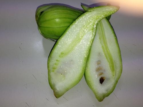 沖縄から珍野菜はいりました